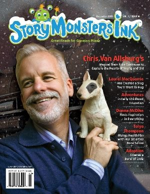 Tolya shares a charming, feature interview in Story Monsters Ink Magazine's December Issue